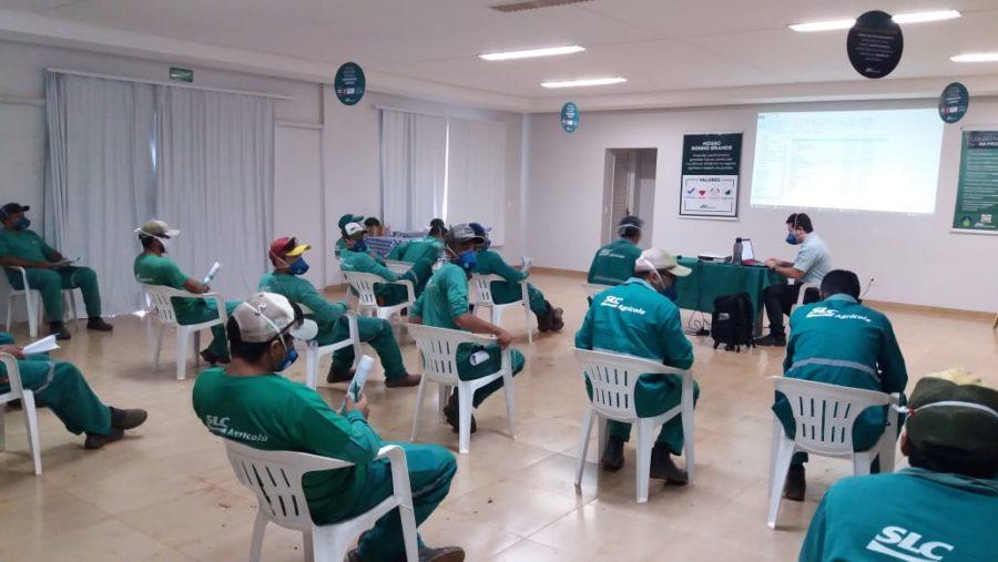 TREINAMENTO – OPERAÇÃO E MANUTENÇÃO DE COLHEITADEIRA DE ALGODÃO